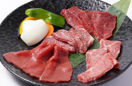 牛肉盛合せ