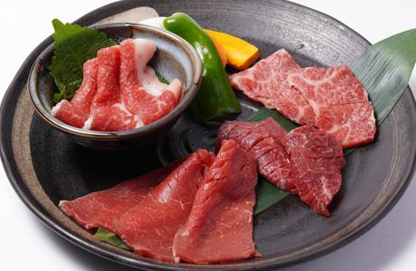 南山牛肉ランチ