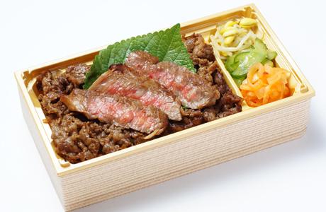 ステーキ&焼肉弁当
